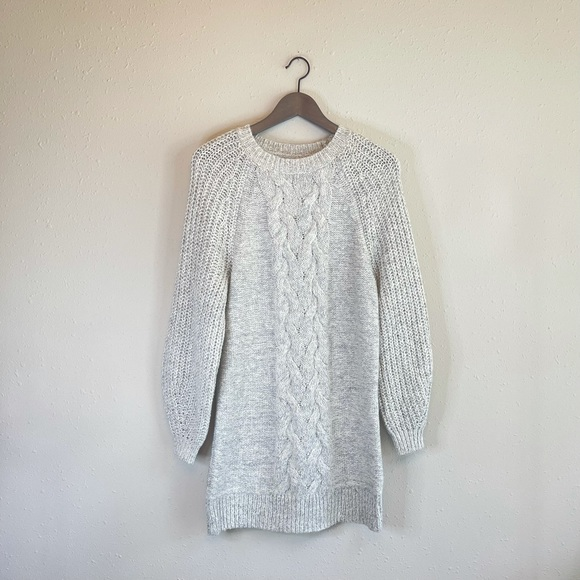 American Eagle Cable Knit Sweater Dress/Sz:S/NEW